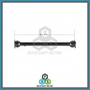 Front Propeller Drive Shaft Assembly - 100-00149