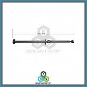 Rear Propeller Drive Shaft Assembly - DS7404