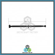 Rear Propeller Drive Shaft Assembly - DS7406