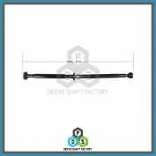 Rear Propeller Drive Shaft Assembly - DS7602