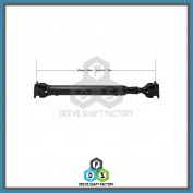 Front Propeller Drive Shaft Assembly - 100-00186