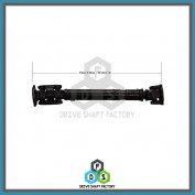Front Propeller Drive Shaft Assembly - 100-00014