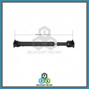 Front Propeller Drive Shaft Assembly - DSFJ07
