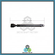 Front Propeller Drive Shaft Assembly - 100-00038