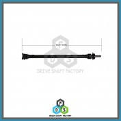 Front Propeller Drive Shaft Assembly - DSFX10