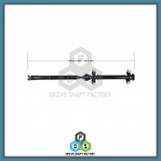 Middle & Rear Propeller Drive Shaft Assembly - 100-00042