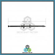 Front, Middle & Rear Sections of the Rear Propeller Drive Shaft Assembly - DSOU03