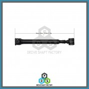 Front Propeller Drive Shaft Assembly - DSS500