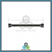 Front Propeller Drive Shaft Assembly - DSX307